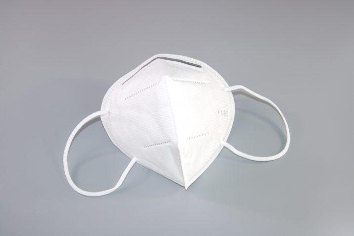 Maske Atemschutz FFP2 Von vorne