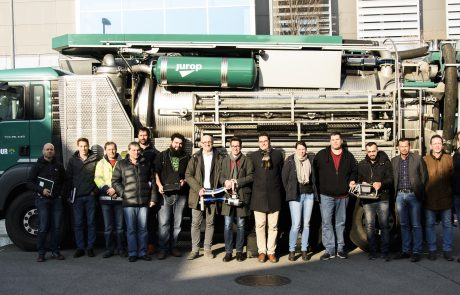Product Demo iPEK XPECTION at Vienna Sewers