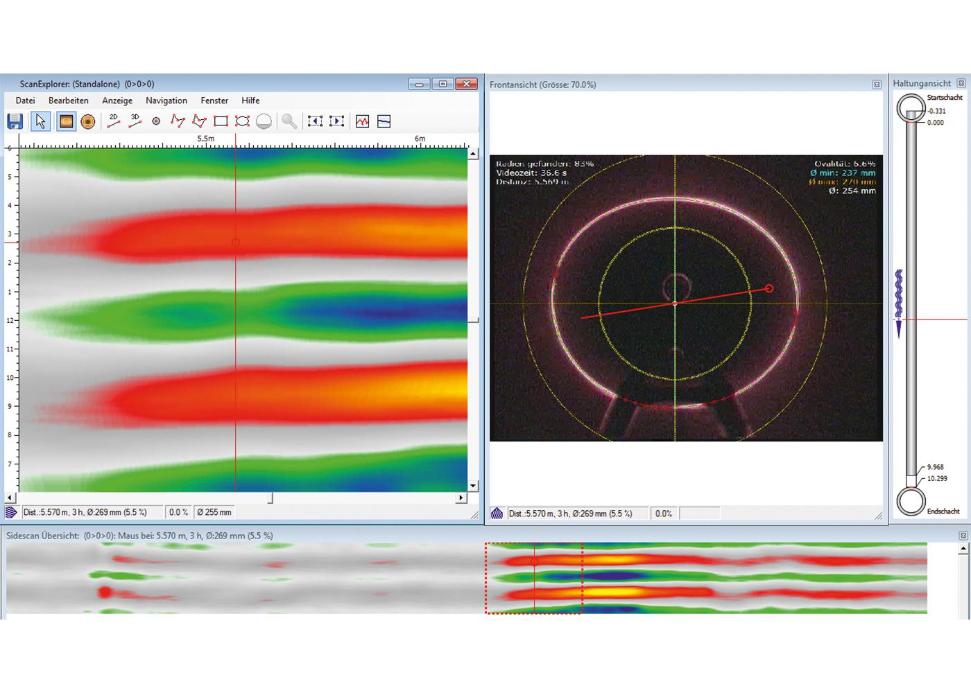 wincan laserscan Screenshot