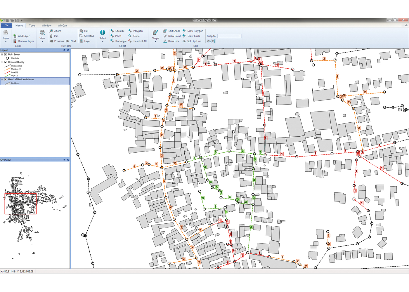 wincan map Screenshot