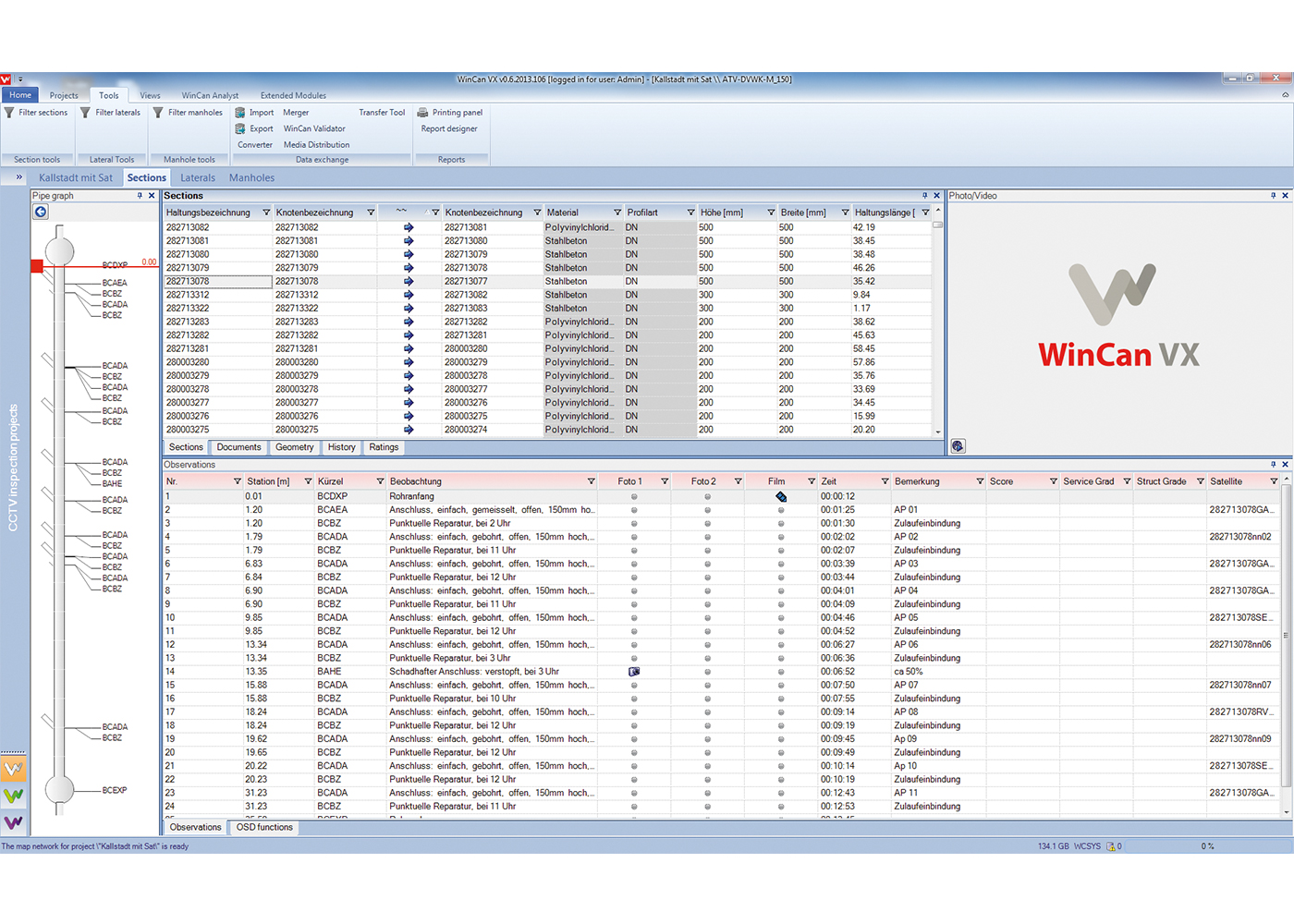 wincan vx Screenshot
